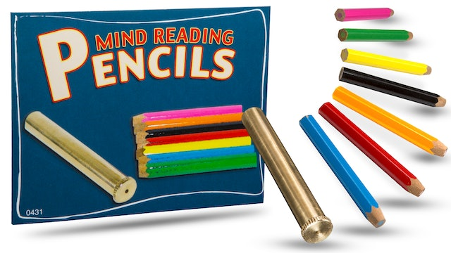 Mind Reading Pencils - The Complete Course on MasterMagicTricks.com
