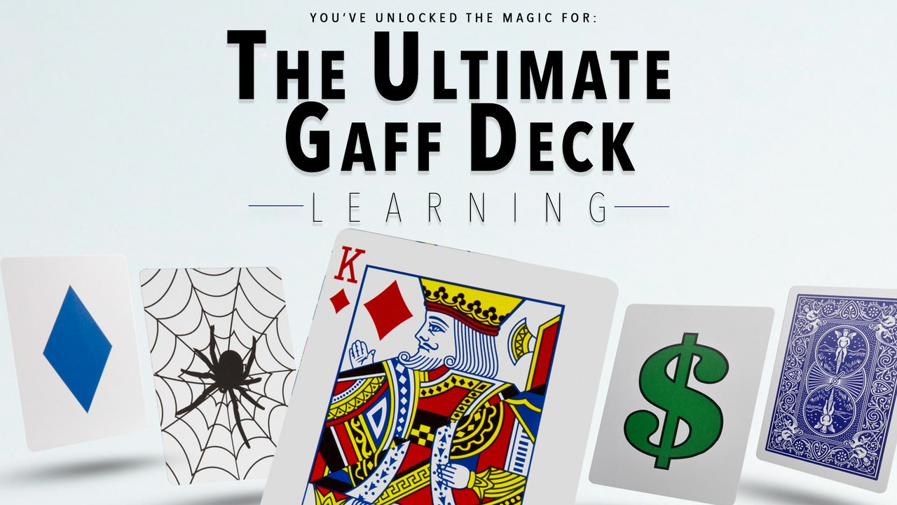 The Ultimate Gaff Deck - The Complete Course on MasterMagicTricks.com