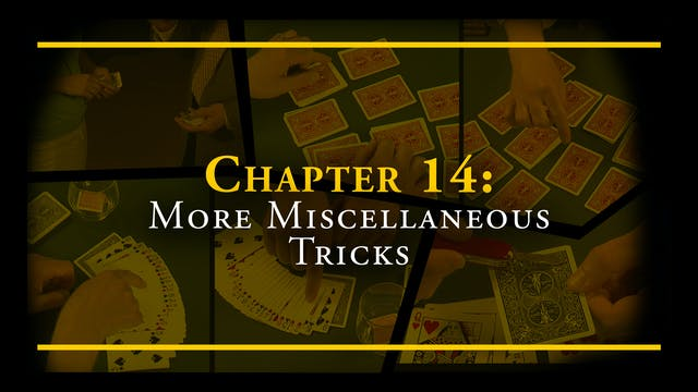 Chapter 14 - More Miscellaneous Tricks