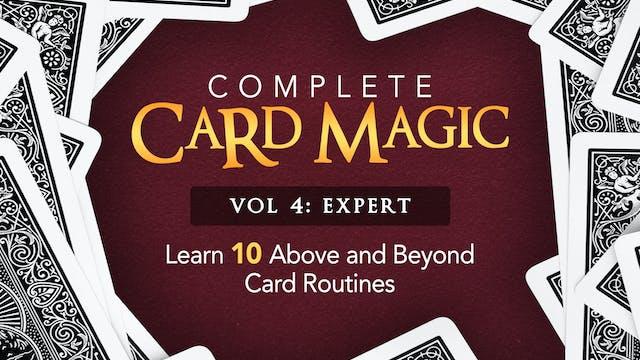 Complete Card Magic Volume 4