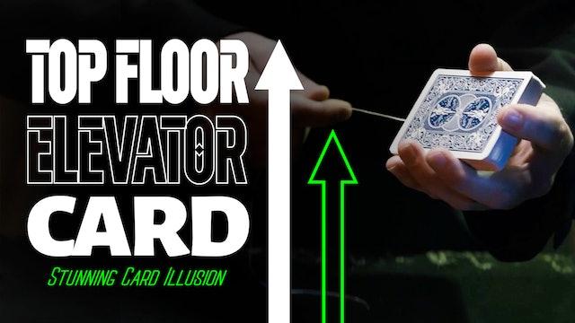 Top Floor Elevator Card