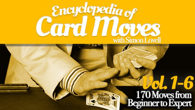 Encyclopedia of Card Moves with Simon Lovell