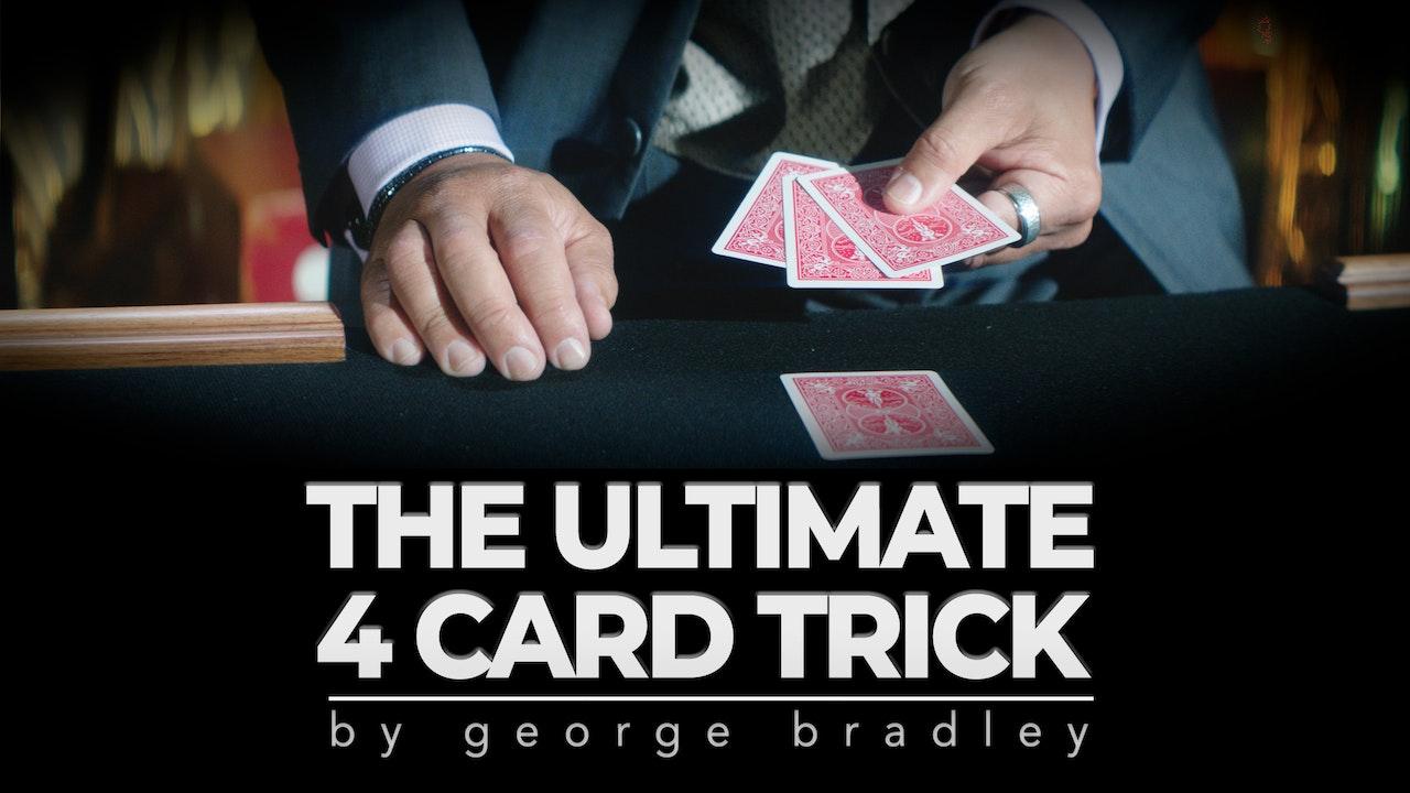 Ultimate 4 Card Trick - Complete Course on MasterMagicTricks.com