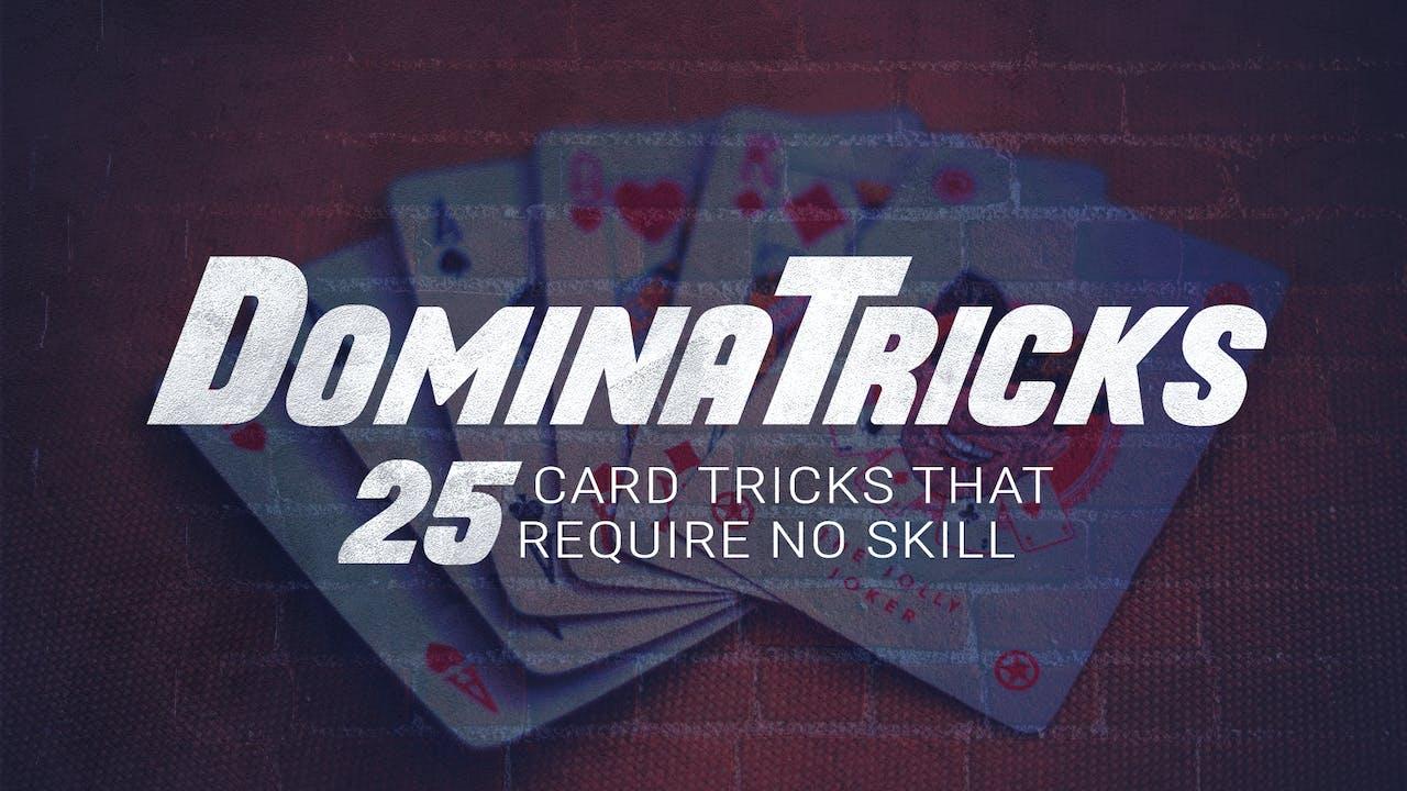 DominaTricks: 25 Self Working Card Tricks