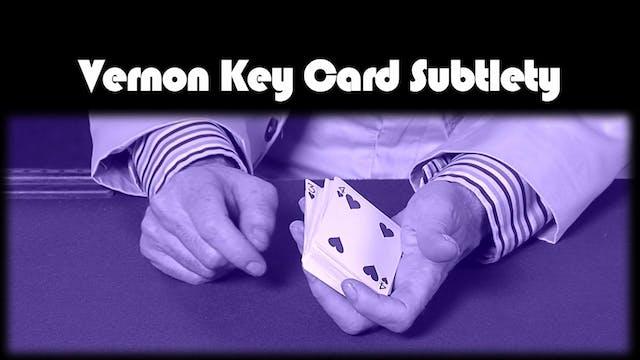 Vernon Key Card Subtlety