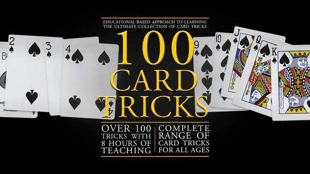 100 Card Tricks with Rudy Hunter