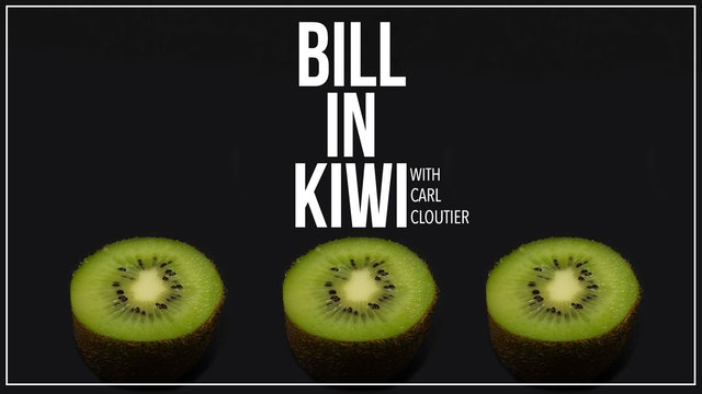 Bill in Kiwi with Carl Cloutier