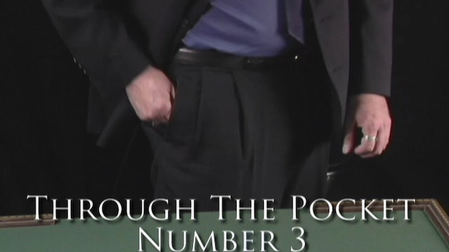 Through the Pocket Number 3