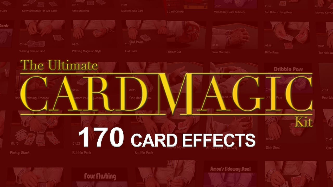 The Ultimate Card Magic Trick Kit
