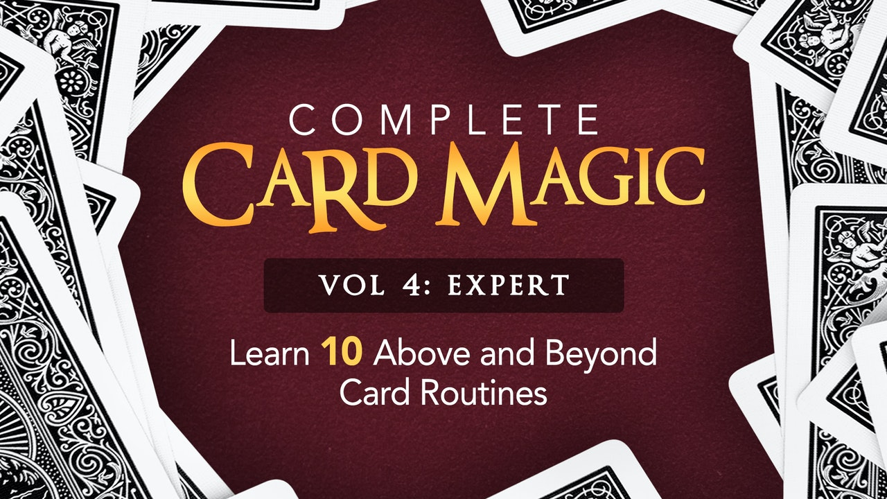 Complete Card Magic Volume 4