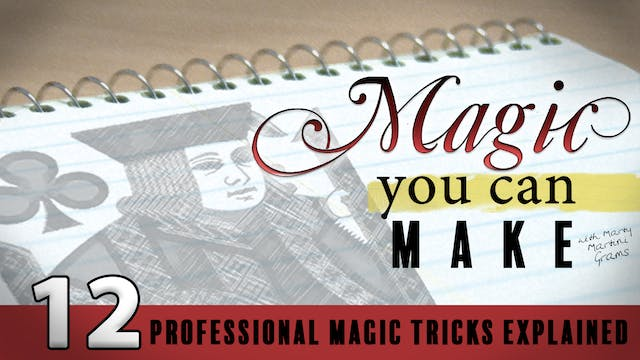 Magic You Can Make with Marty Martini Grams