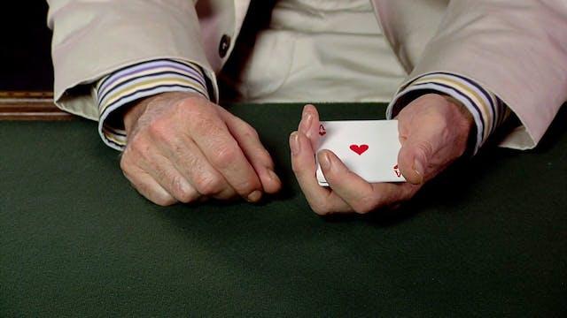 5 as Four Between Hands
