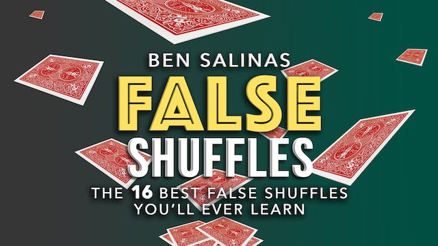 False Shuffles with Ben Salinas Full Volume - Download