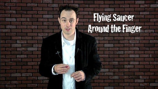 Flying Saucer Around the Finger