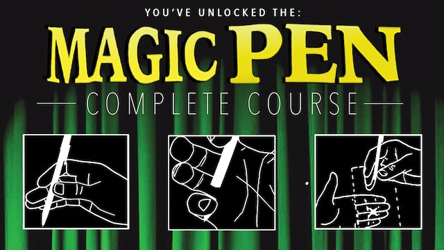 Learn the Magic Pen - The Complete Free Course on MasterMagicTricks.com