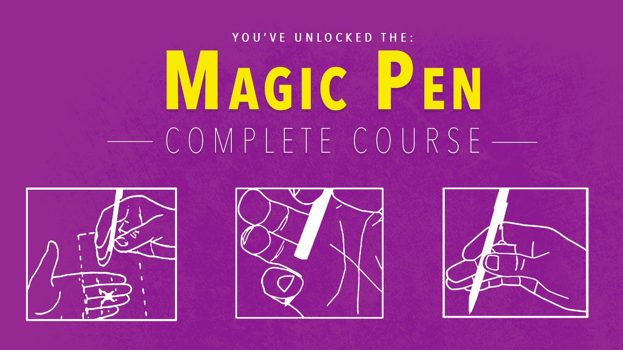 Learn the Magic Pen - The Complete Course on MasterMagicTricks.com