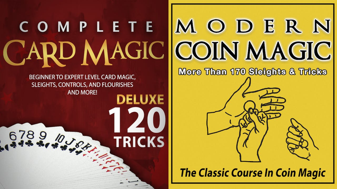 Complete Card & Modern Coin Magic Instant Download