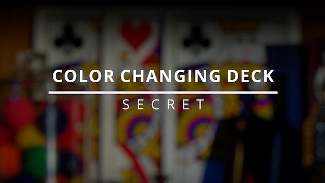 Color Changing Deck - Secret