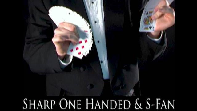 Sharp One Handed S Fan