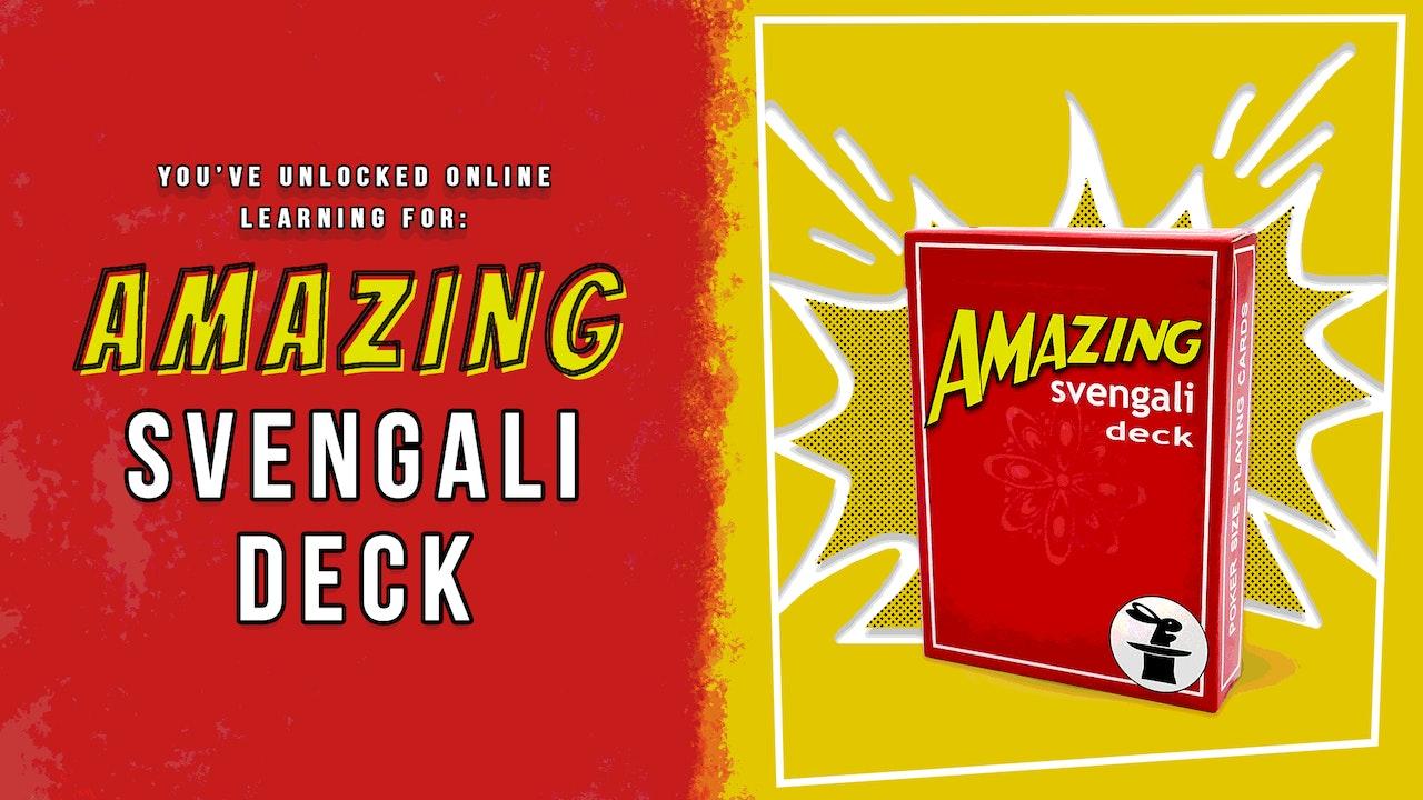 Learn the Adams Amazing Svengali Deck on MasterMagicTricks.com