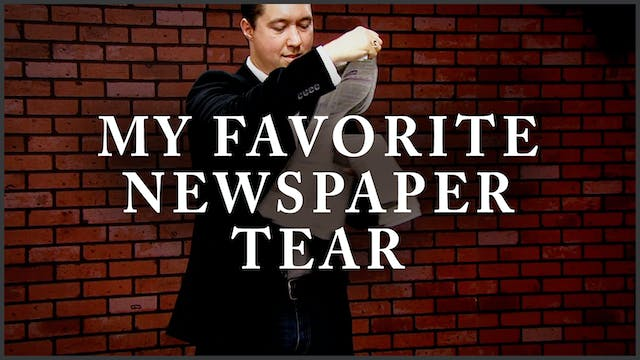 My Favorite Newspaper Tear