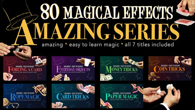 The Amazing Series 80 Magic Tricks You Can Master