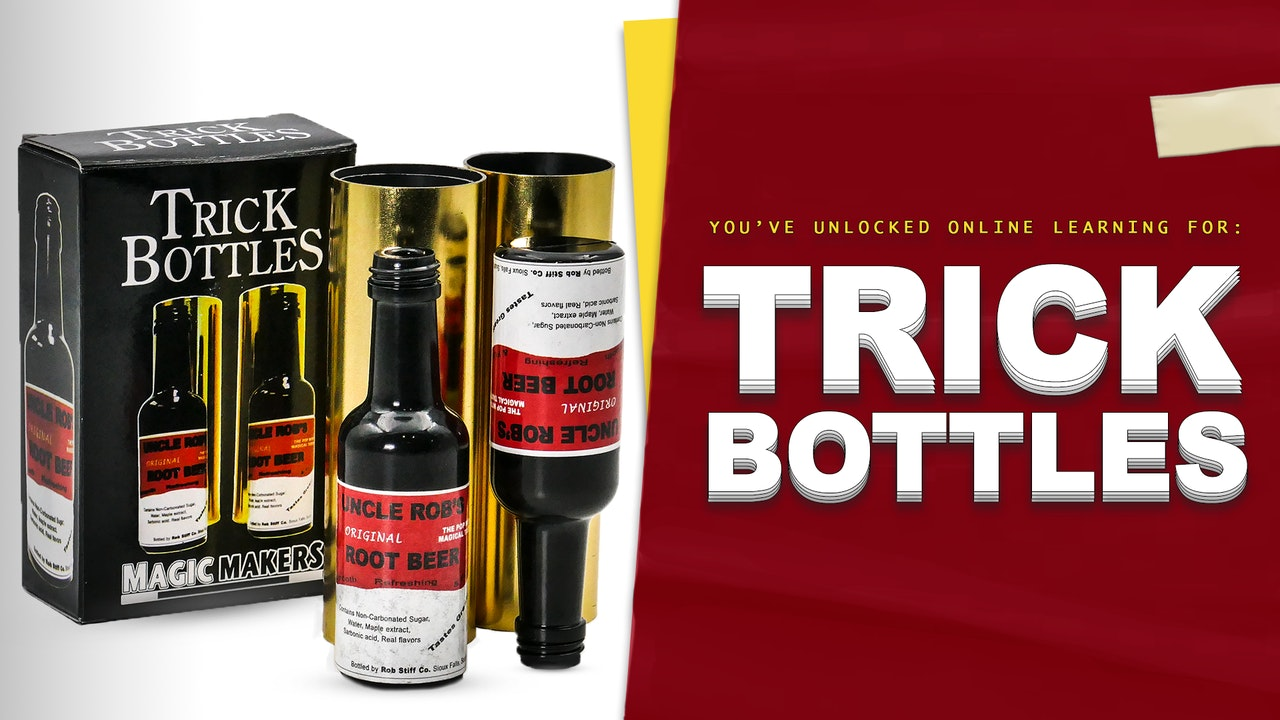 Learn Trick Bottles on MasterMagicTricks.com
