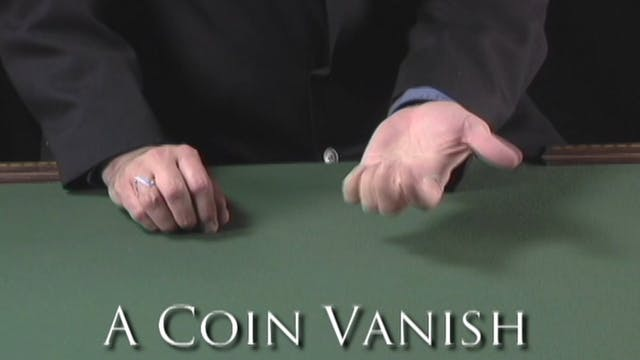 A Coin Vanish
