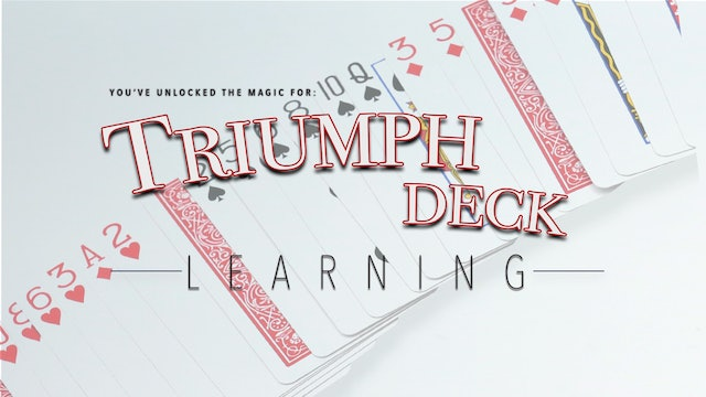Triumph Deck - Complete Collection on MasterMagicTricks.com