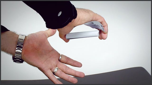 One-Handed Top Palm