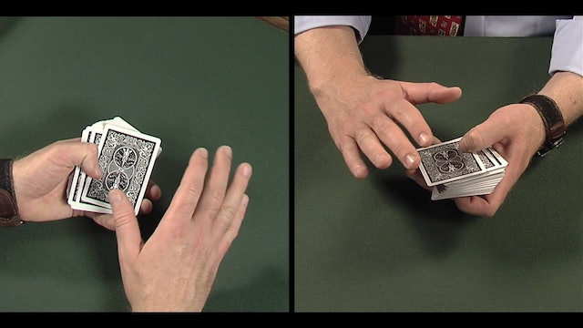 Subtle Method of Setting the Deck Openly