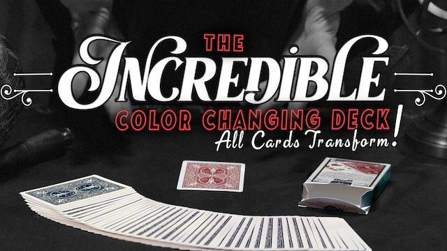 Incredible Color Changing Deck