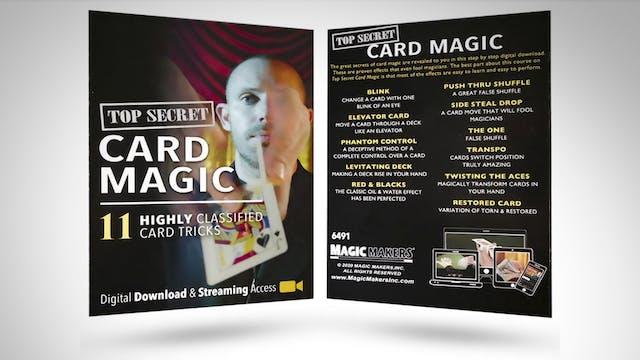 Top Secret Card Magic with Kris Nevling