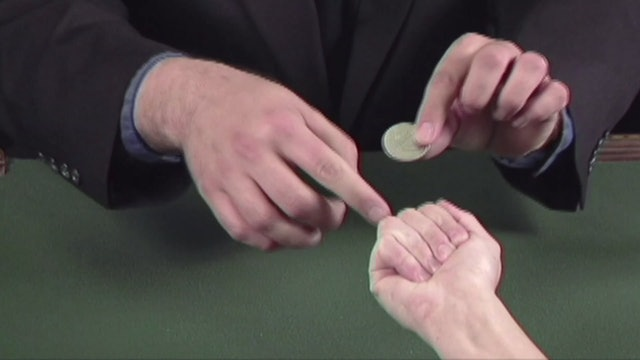 Coins Through the Table