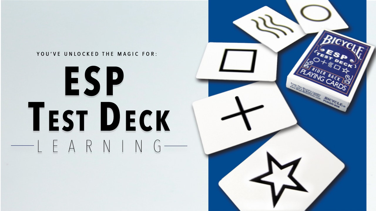 ESP Deck - The Complete Course on MasterMagicTricks.com