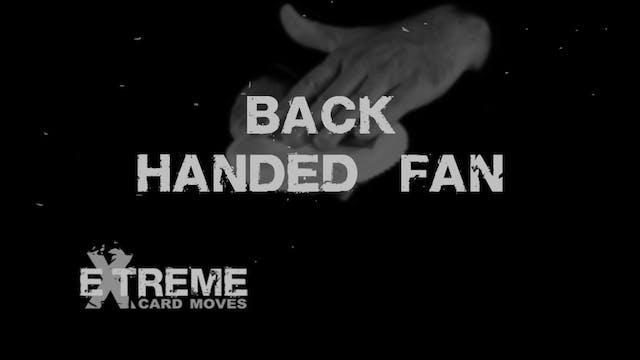Back Handed Fan