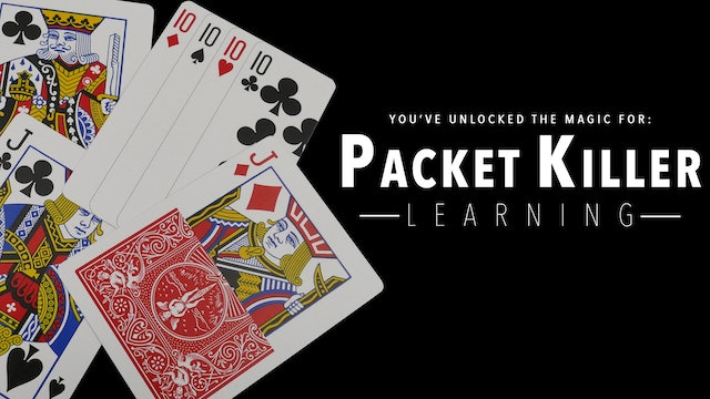 Packet Killer - The Complete Course on MasterMagicTricks.com