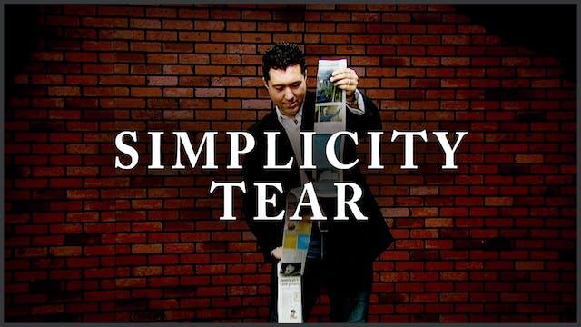 Simplicity Tear