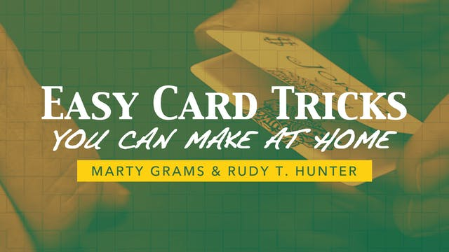 Easy Card Tricks You Can Make at Home Instant Download