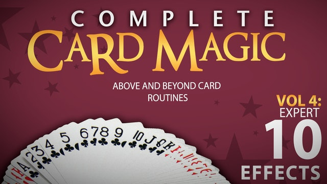 Complete Card Magic Volume 4: Expert