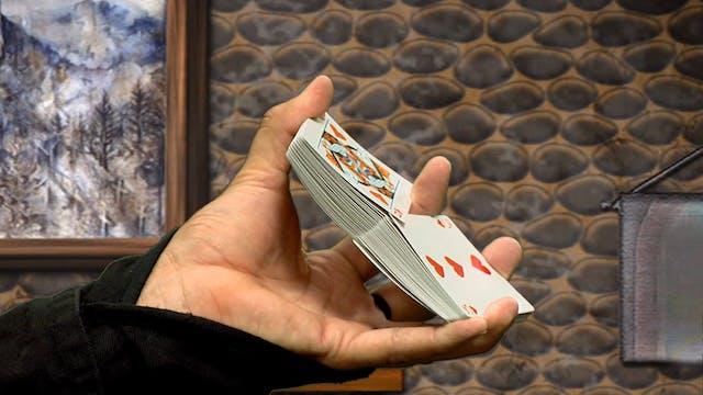 1 Handed Riffle Shuffle