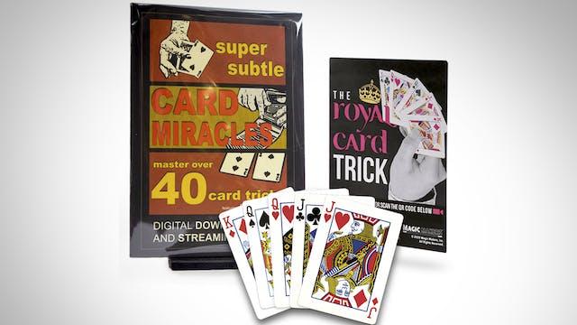 Super Subtle Card Miracles: 40+ Card Tricks