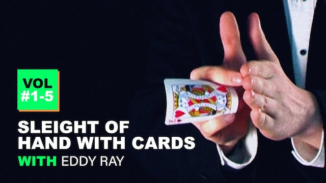 Sleight of Hand with Cards - Instant Download