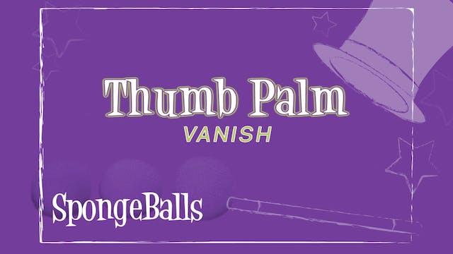 Thumb Palm Vanish