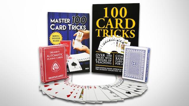100 Card Tricks with Rudy Hunter