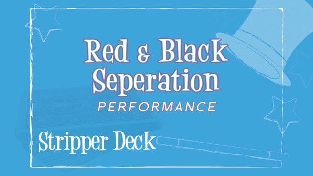 Red Black Separation