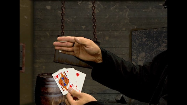 Five Card Vanish and Reproduction