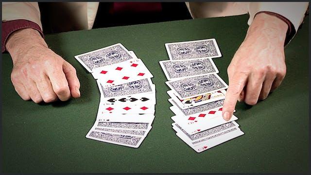 Scarne's Topsy Turvy Cards