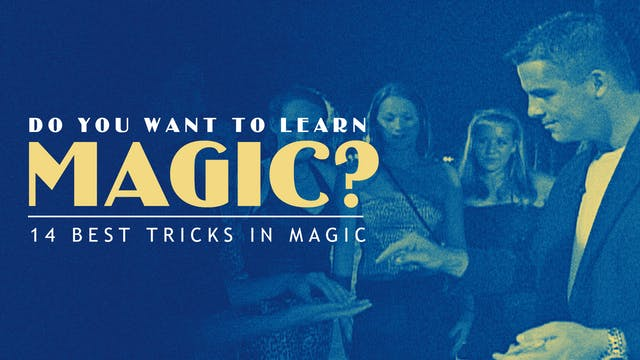 Do You Want to Learn Magic? Instant Download