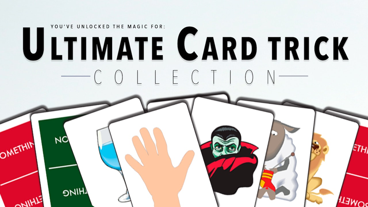 Ultimate Card Trick Collection - The Complete Course on MasterMagicTricks.com